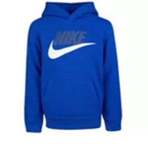 NWT Boy's Nike Pullover Fleece Hoodie Size 4/5
